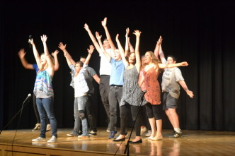 """Schoharie Creek Players Perform """"Fame"""""""